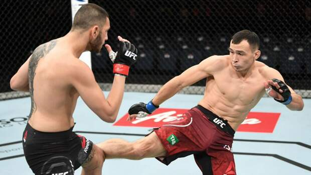 Исмагулов — о победе на турнире UFC: «Я каждый день сражался, чтобы вернуться»