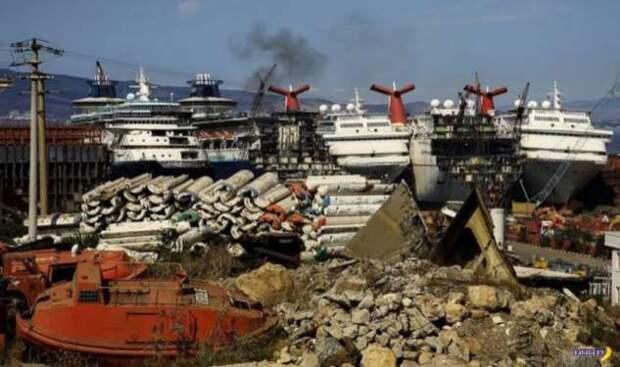 Круизные лайнеры режут на иголки — 2