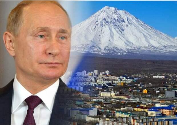 Путин поручил правительству в течение трех месяцев утвердить программу развития Дальнего Востока