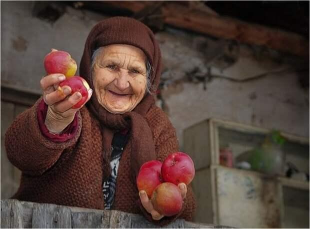 Даже в старости есть место для позитива!