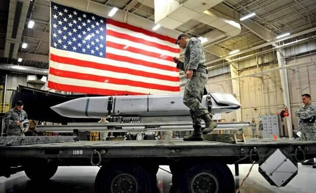Американское ядерное оружие становится все ближе к границам России