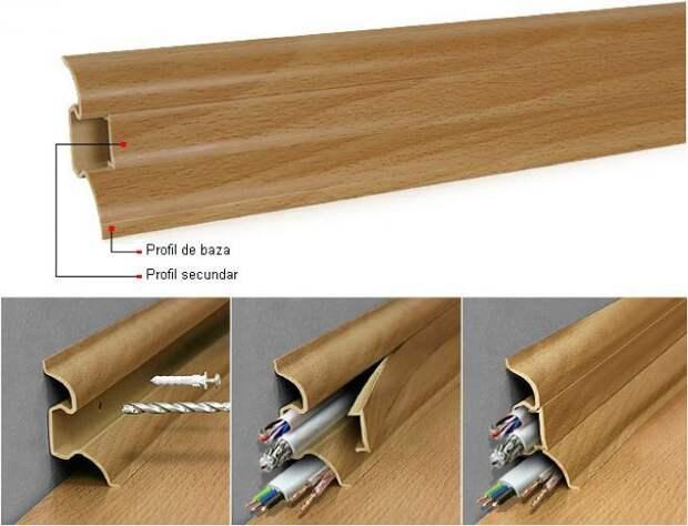 Как спрятать провода от телевизора на стене: фото, варианты практичные и эстетичные (75 фото)