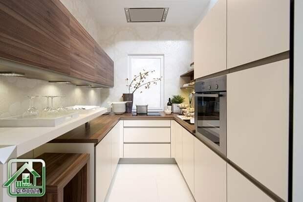 Как обустроить маленькую кухню. 10 полезных советов