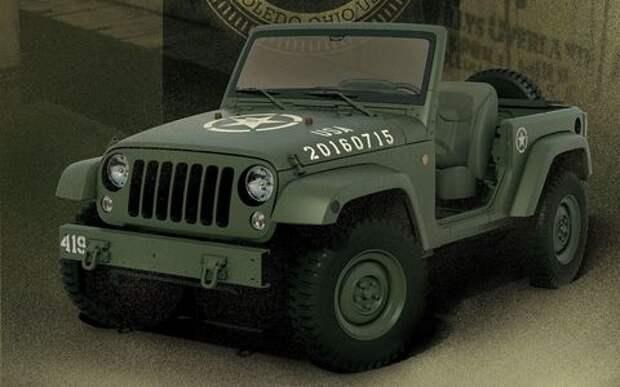 Jeep Wrangler раздели к юбилею