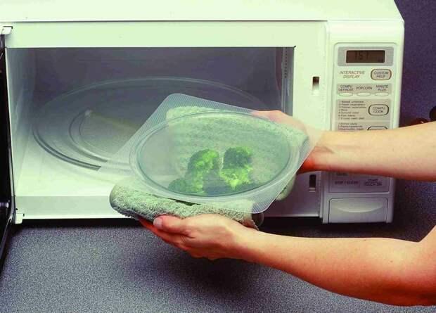 Защита для микроволновой печи