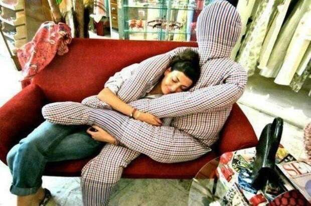 Самая уютная подушка в мире!