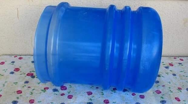 Оригинальная идея переделки 19-литровой бутылки