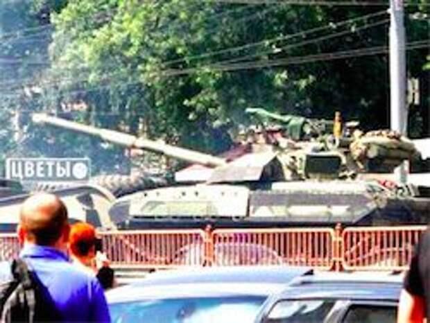 Новость на Newsland: В Киев введены танковые войска