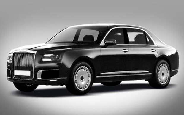 Меньше агрессии: новому автомобилю Путина поправили «лицо»