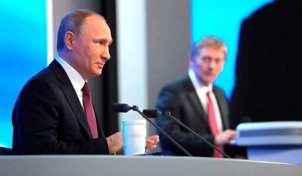 Песков рассказал о праздничных шутках Путина