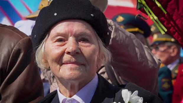Ветераны смогли побывать на Параде Победы в Петербурге несмотря на пандемию