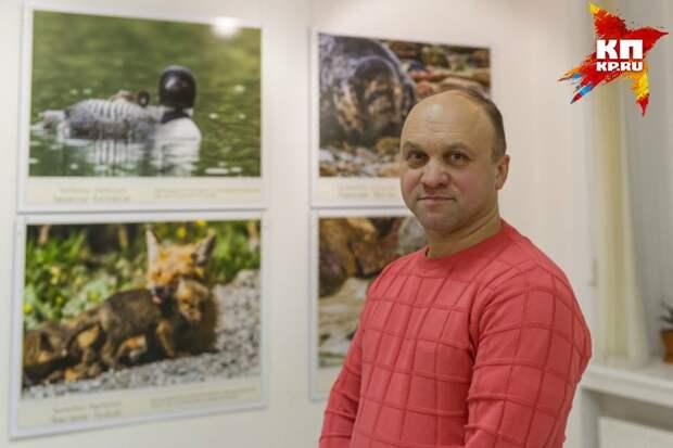 Глазков считает, что знание рождает любовь Фото: Олег ЗОЛОТО