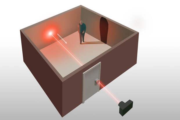 Разработан лазер, способный показать помещение через замочную скважину