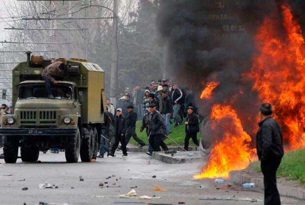 Душанбе охвачен ночными беспорядками из-за проигрыша Манижи на Евровидении