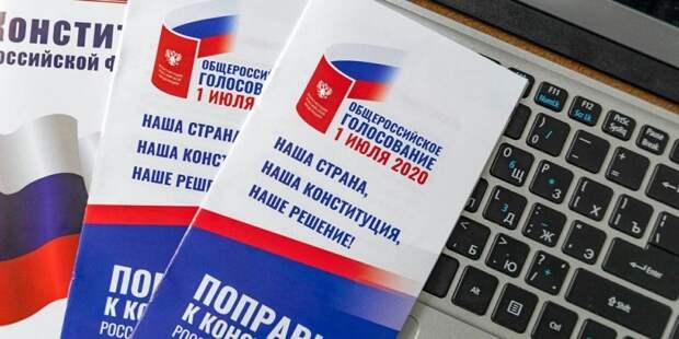 Более 4 млн москвичей проголосовали по поправкам к Конституции. Фото: mos.ru