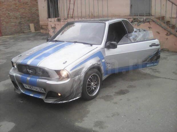 Парня привлекли к ответственности за самодельный Ford Mustang Shelby