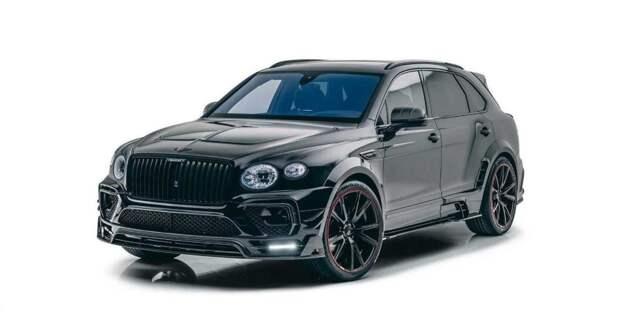 Тюнинг-ателье Mansory добавило мощности и стиля обновлённому Bentley Bentayga