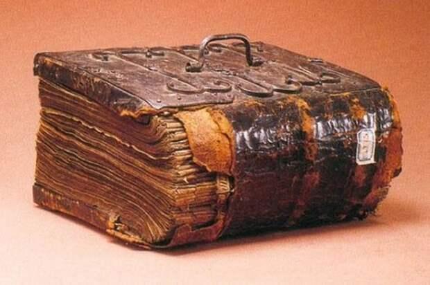 Путь мистической книги или «Библии черта»