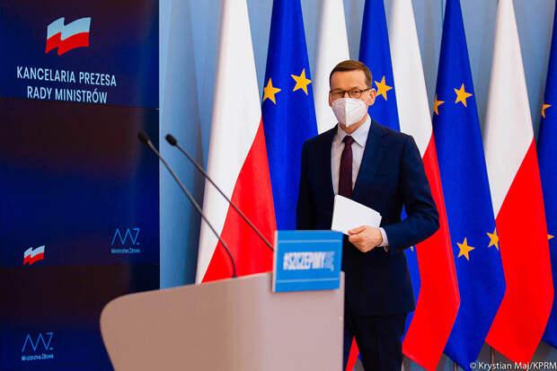 Премьер Польши призвал Евросоюз ввести новые санкции против Минска