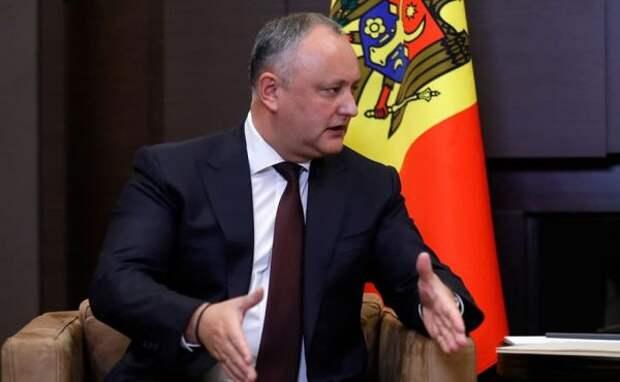 Додон обозначил «красные линии» иприоритеты блока спасения Молдавии