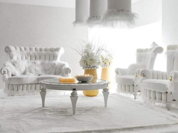 Белая мебель1
