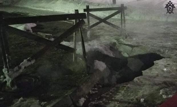 По факту падения девушки в яму с кипятком в Дзержинске возбуждено уголовное дело