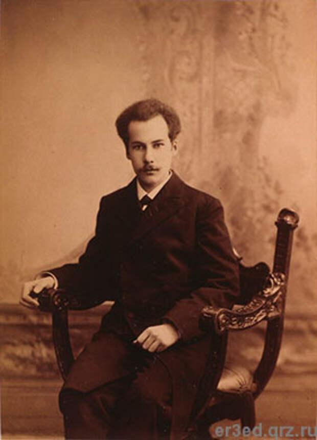 Андрей Белый. Фото 1906 года