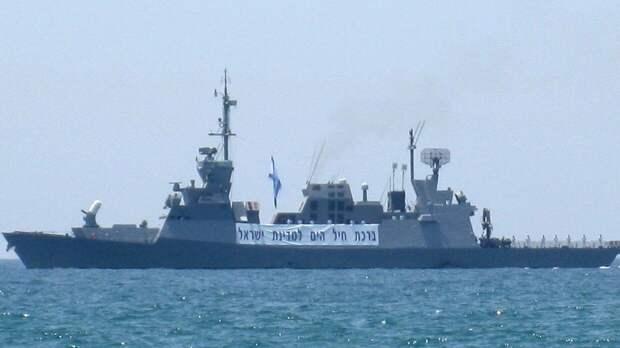 Израиль нанес удар по субмарине движения ХАМАС у берегов сектора Газа