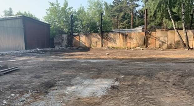Комплекс самостроев площадью 750 «квадратов» демонтировали в Ярославском