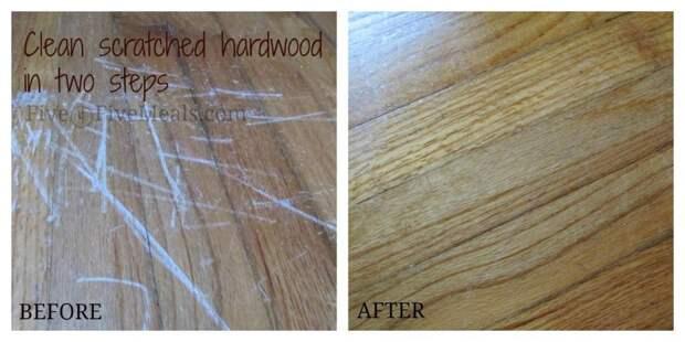 Как избавиться от царапин на деревянном полу с помощью майонеза