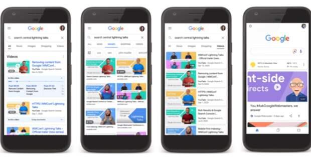 Google индексирует в поиске ключевые моменты видеоконтента
