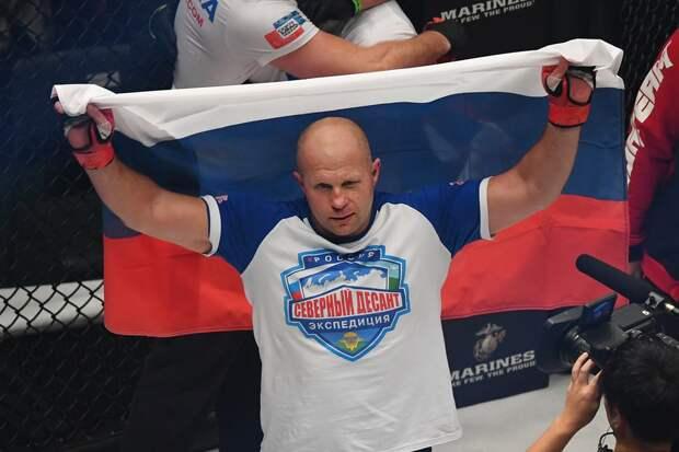 Федор Емельяненко потерял 1 позицию в обновленном рейтинге тяжеловесов Bellator