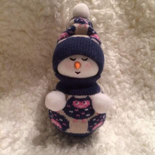 Снеговик за час