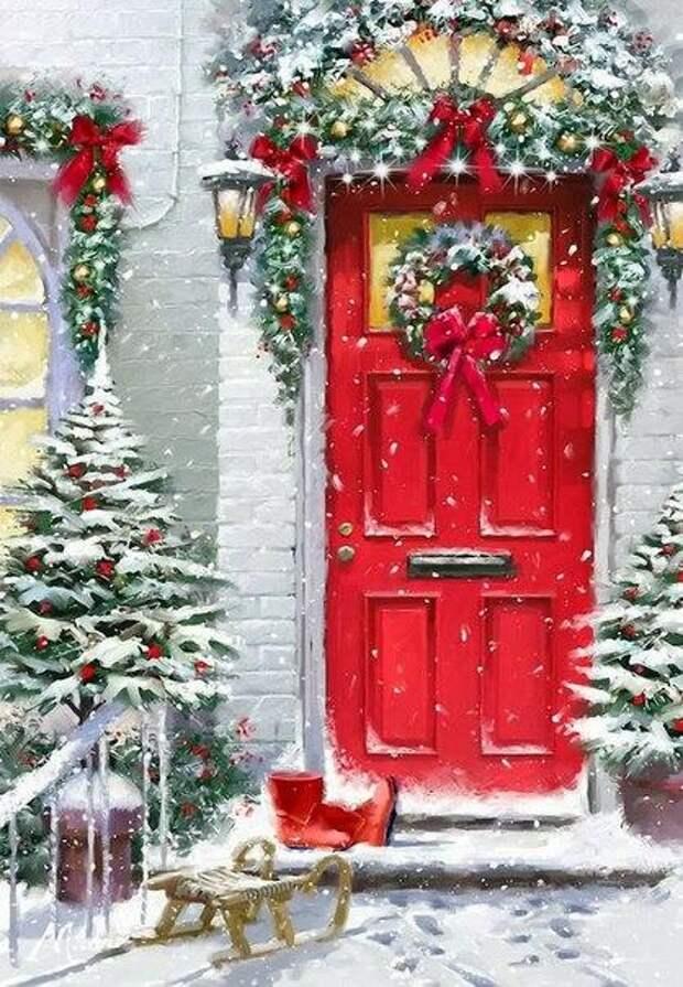 Новогоднее настроение от Richard MacNeil
