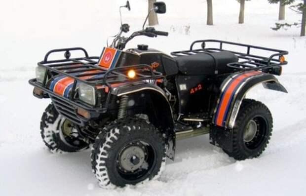 Мотовездеходы «Рысь» Тутаевского моторного завода