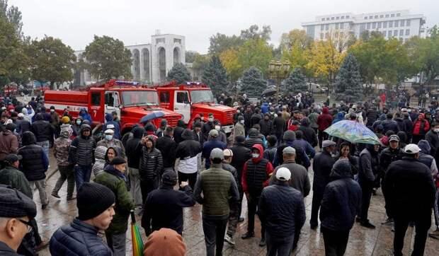 Россия отреагировала на беспорядки в Киргизии: Призываем проявить мудрость