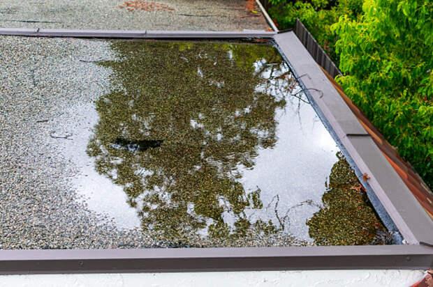В доме на Башиловской провели очистку водостока