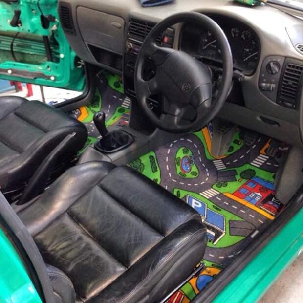 Очумелый кастомайзинг автомобиля (подборка)