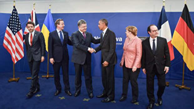 Лидеры государств на саммите НАТО в Варшаве