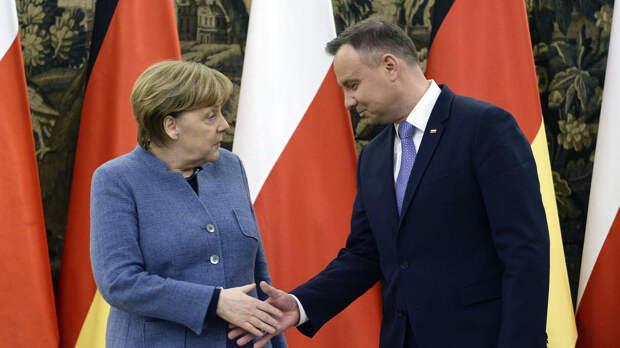 США и Британия используют Польшу против Германии