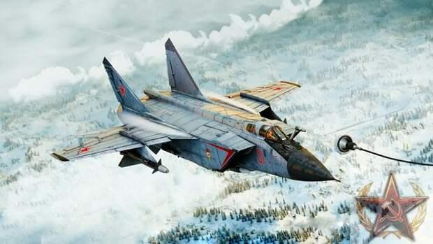 """МиГ-31""""кинжальный""""—орбитальный истребитель на гиперзвуке со скоростью 7000 км/ч"""