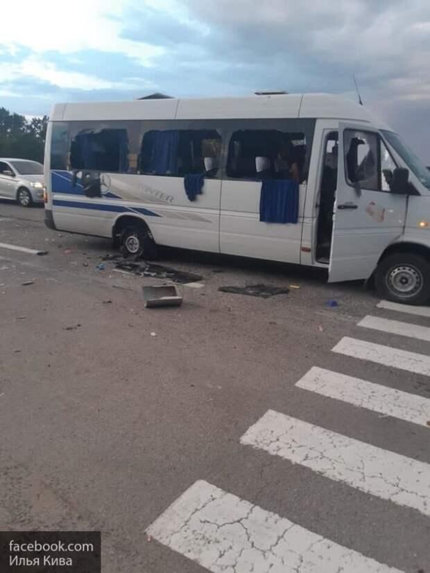 Киев пытается отмазать виновных в обстреле автобуса под Харьковом