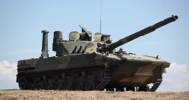 Плавающий танк «Спрут» вышел на госиспытания