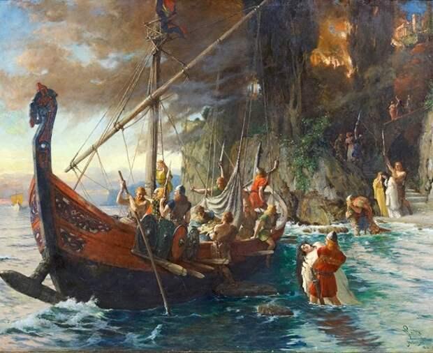 Кто приучил викингов бояться русских парусов? Ушкуйники