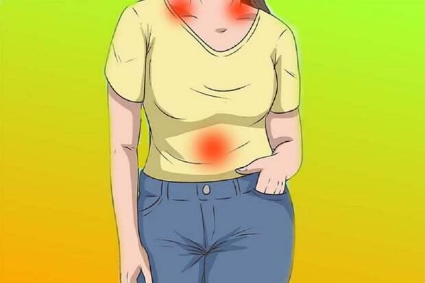 Три точки для снятия стресса