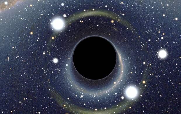Ученые допустили существование микроскопических кротовых нор во Вселенной