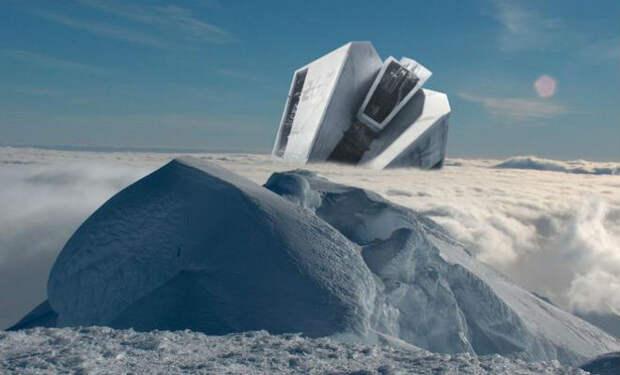 Военная база немцев в Антарктиде: рассекречены документы Рейха