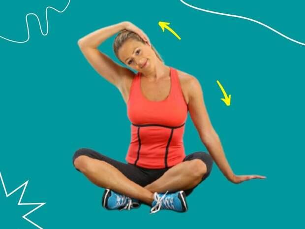 Как убрать холку: 5 простых упражнений для красивой шеи