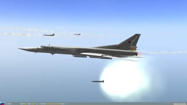 Три американских боевых корабля оказались подударом российского Ту-22М3