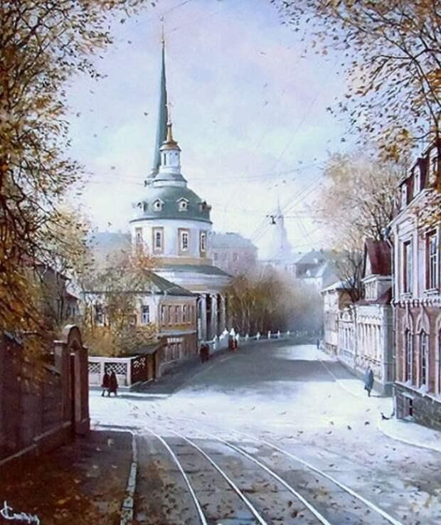 Улица Радио. Автор: Александр Стародубов.